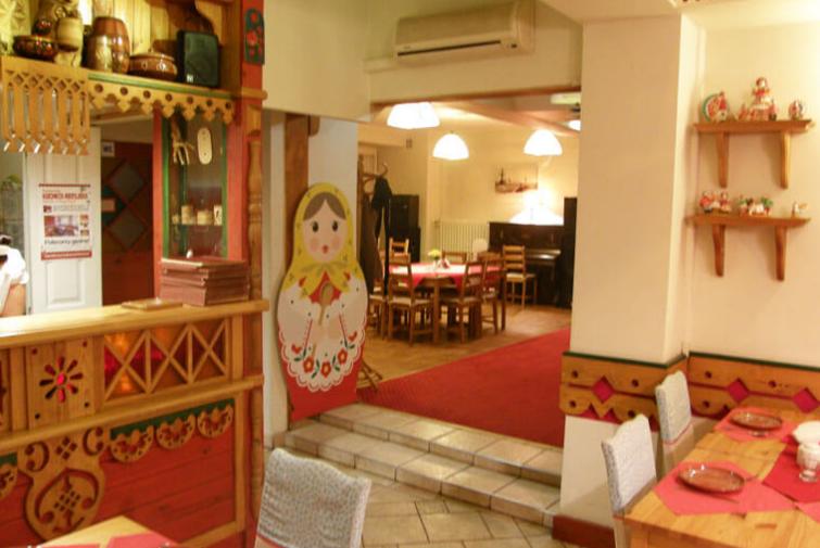 Restauracja Kuchnia Rosyjska