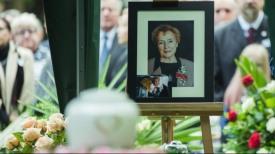 Ostatnie pożegnanie Olgi Krzyżanowskiej na Cmentarzu Srebrzysko w Gdańsku