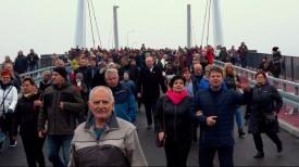 Most 100-lecia Odzyskania Niepodległości Polski już otwarty