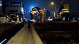 Stogi. Wielki remont torów tramwajowych