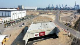 Port Gdańsk. Rozbudowa układu drogowo-kolejowego