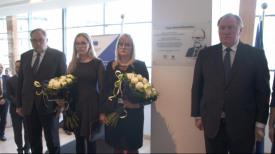 Foyer im. Pawła Adamowicza w siedzibie Europejskiego Komitetu Regionów w Brukseli