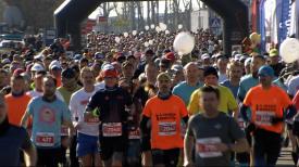 Święto biegaczy. 5. Gdańsk Maraton na ulicach miasta