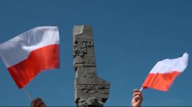 """""""Westerplatte znowu walczy""""  Protest Obywateli RP"""