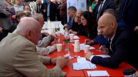 Orunia-św. Wojciec -Lipce. Rozmowy przy stole z prezydent Dulkiewicz