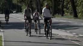 Wyspa Sobieszewska. Rowerzyści korzystają już z nowej ścieżki
