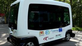 Pierwszy w Polsce autonomiczny autobus kursuje Gdańsku