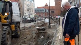 Trwa modernizacja zieleńca przy ul. Podmłyńskiej w Gdańsku