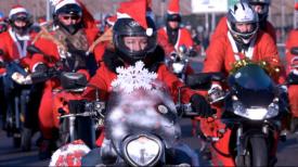 Mikołaje na Motocyklach po raz 17. przejechali ulicami Trójmiasta