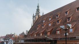 Zabytkowy Wielki Młyn ma już nowy dach