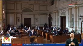 Nadzwyczajna sesja Rady Miasta Gdańska.  Prawie 12 mln na działania antykryzysowe