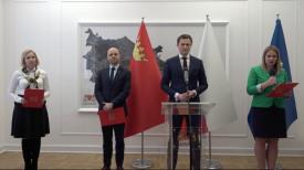 Kosińska, Grzelak, Aleksandrowicz o aktualnej sytuacji w mieście - konferencja