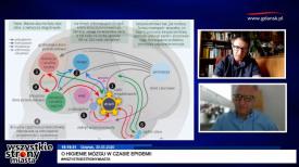 Dr Wojciech Glac, biolog z UG o stresie i higienie mózgu w czasie epidemii Covid-19