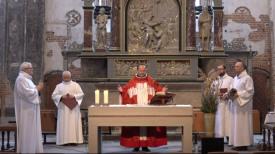Niedziela Palmowa. Transmisja z mszy w kościele św. Jana