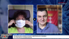 Od tygodni apeluje o obowiązek noszenia maseczek. Dr Magdalena Łasińska-Kowara, anestezjolog z Gdańska