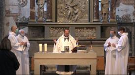 Msza św. w kościele św. Jana