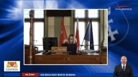 22. Sesja Rady Miasta Gdańska kadencji 2018-2023. 2020.04.30