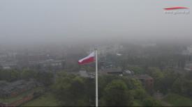 Dzień Flagi RP. Biało-czerwona zawisła na Górze Gradowej