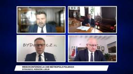 Prezydenci miast Unii Metropolii Polskich o sytuacji podczas epidemii