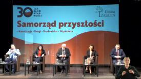 Samorząd przyszłości. Spotkanie online z okazji 30-lecia samorządów w Polsce