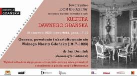 """Jan Daniluk: """"Geneza, powstanie i ukształtowanie się Wolnego Miasta Gdańska (1917-1923)"""""""