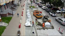 Budowa drogi rowerowej na ul. Dmowskiego